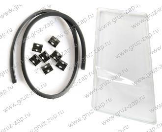 стекло фары с резиновым уплотнит